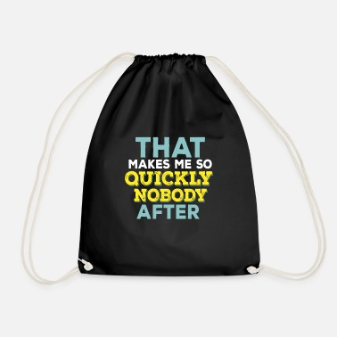 Funny Quotes Funny Quotes - Drawstring Bag