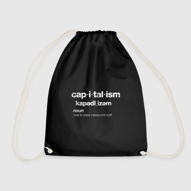 Capitalism Shares Empire Wealthy Gift - Drawstring Bag