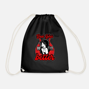 Chav Bad Girl Club Women Gang Rebel Gift - Drawstring Bag