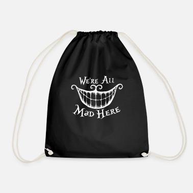 Alice Im Wunderland Cheshire Katz We 39 Re All Mad Here
