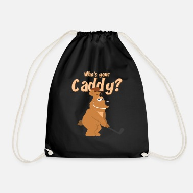 Caddy caddy - Drawstring Bag