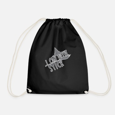 Driving Witch Halloween I Can Drive Stick-Witch Halloween - Drawstring Bag