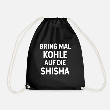Water Pipe Shisha Coal Drawstring Bag