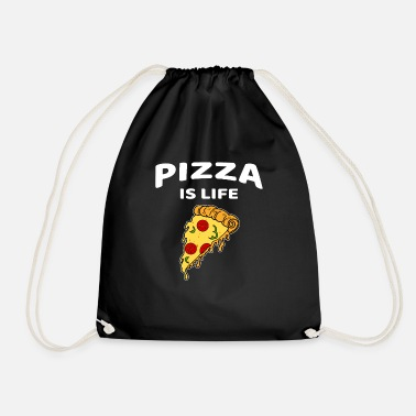 Pizza Pizza Pizza Lover grappig eten - Gymtas