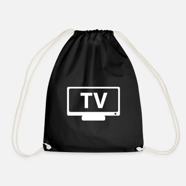 Tv TV TV - Drawstring Bag