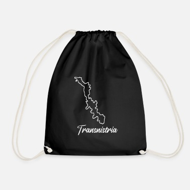 Funny Sayings Funny Transnistrian saying about Transnistria - Drawstring Bag