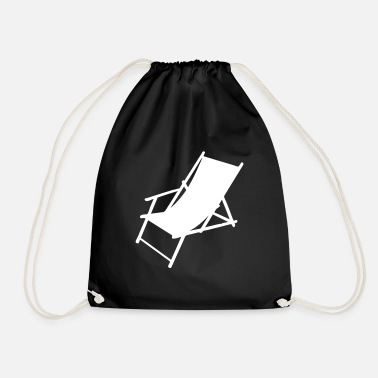 Deck Chair deck chair - Drawstring Bag