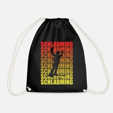 Schladming Schladming ski vacation - Drawstring Bag