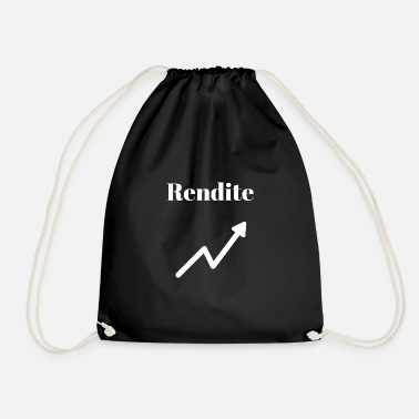 Yield yield - Drawstring Bag