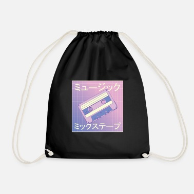 Mixtape vaporwave - Drawstring Bag