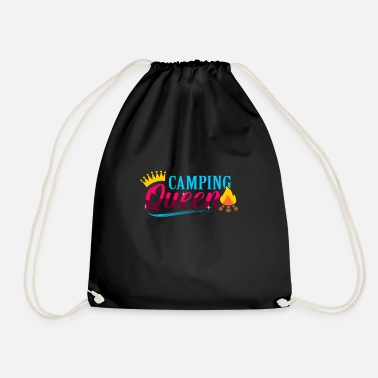 camp - Drawstring Bag