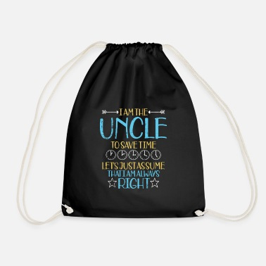 Uncle uncle - Drawstring Bag