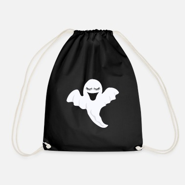 Ghost Ghost Eyelashes Scary Gift - Gymtas