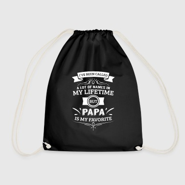 Called a lot in lifetime papa is favorite - Sacca sportiva