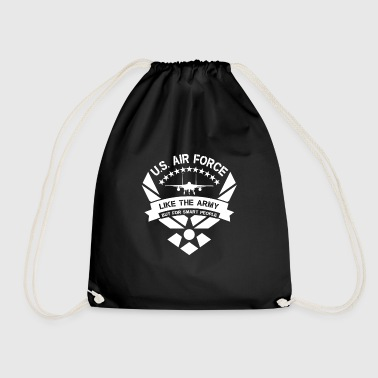 U.S. Air Force like the Army but for smart people - Drawstring Bag