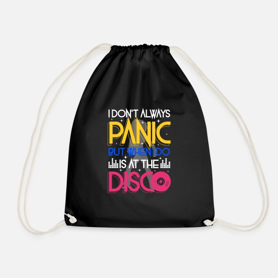 Band Borse & Zaini - I don't always panic but when i do is at the Disco - Sacca sportiva nero