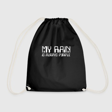 My Rain is always Purple - 80s retro music - Gymbag
