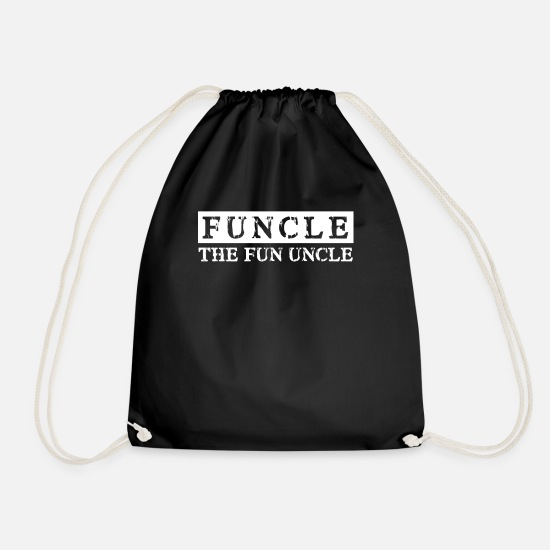 Fun Sacs et sacs à dos - Funcle - L'oncle Fun L'oncle Fun - Sac à dos cordon noir