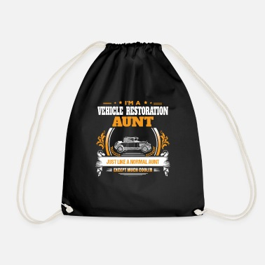 Vehicle Vehicle Restoration Aunt Shirt Gift Idea - Drawstring Bag