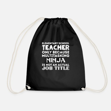 Elementary School Elementary School Teacher - Drawstring Bag