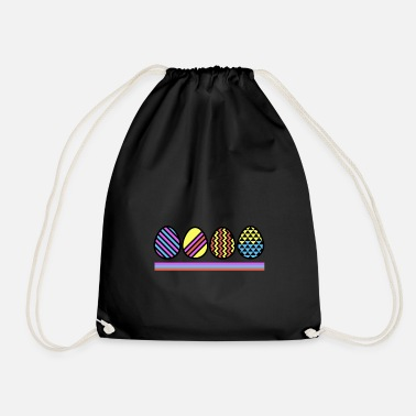 Easter Egg Easter Eggs - Easter eggs - Drawstring Bag