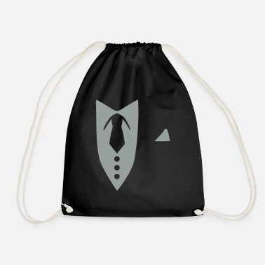 Suit Suit - Drawstring Bag