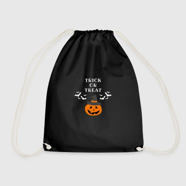 TRICK OR TREAT | HALLOWEEN | Trick or treating? - Drawstring Bag
