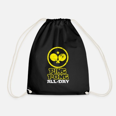 Ball Ping-pong - Drawstring Bag
