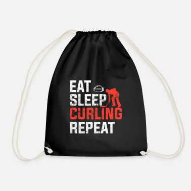 Competition Curling competition - Drawstring Bag