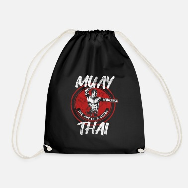 Thai Muay Thai - The art of 8 limbs - Drawstring Bag