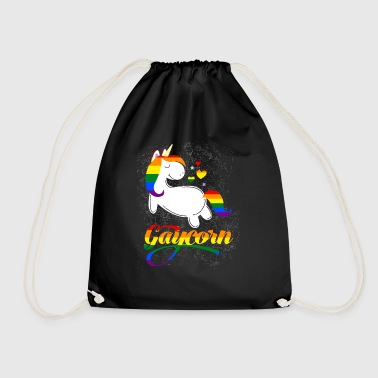 Gaycorn - Gay Unicorn - Turnbeutel