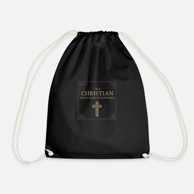 Kristen Related To Christ kristen, jesus, gud, christ, kirke, bibelen - Gymnastiktaske