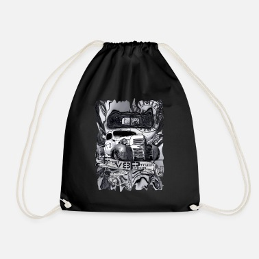 V8 V8 Fargo Pickup Truck gray Limited Edition 100 - Drawstring Bag