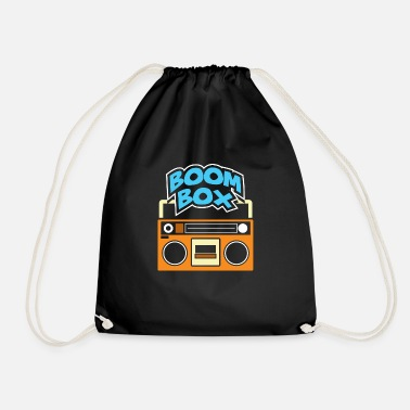Boom Box Vintage boom box - Drawstring Bag