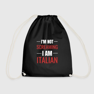 Italian joke - gift idea for Italians - Drawstring Bag