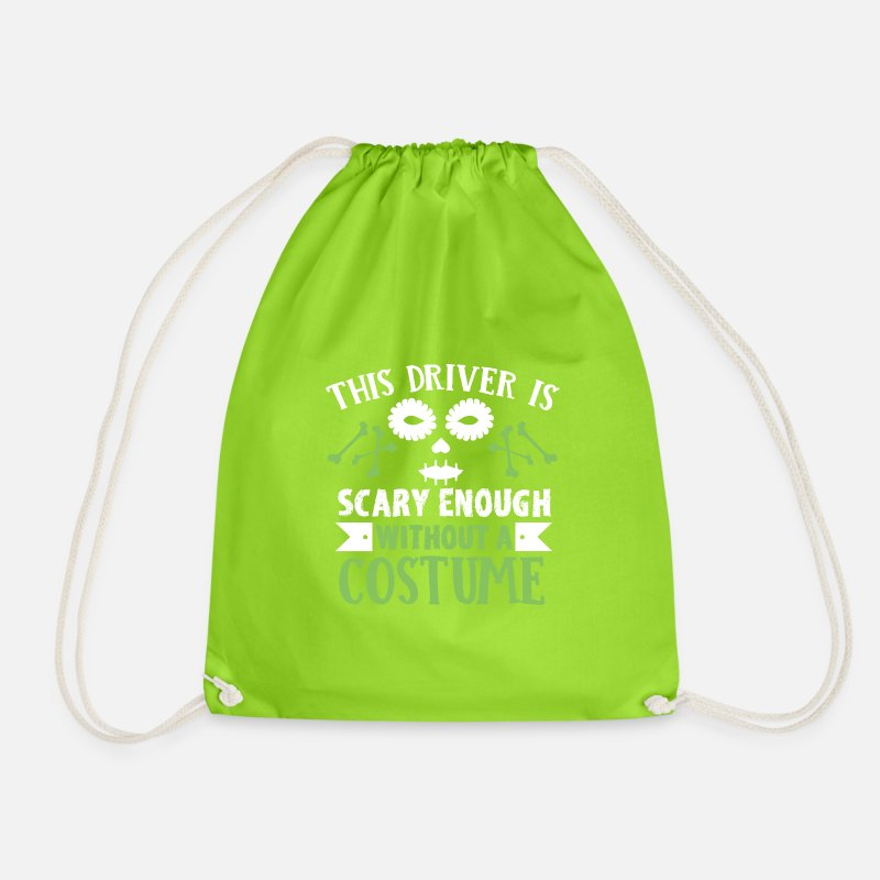 Skumle Driver Halloween T skjorte Gymbag | Spreadshirt