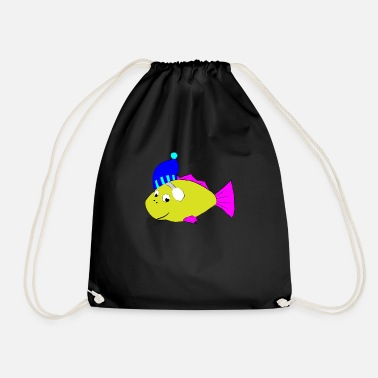 Tempest Fish animal autumn winter christmas gift - Drawstring Bag