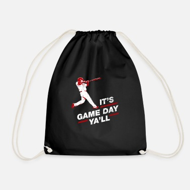 Baseball Baseball Player Baseball Baseballer Gift - Drawstring Bag