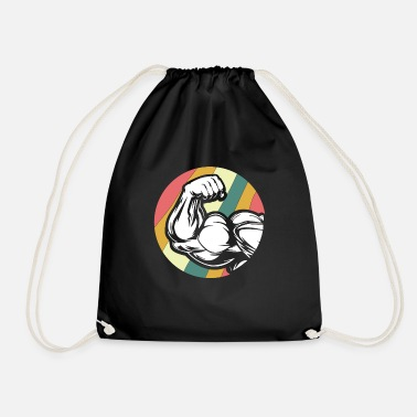 Biceps defined muscles - Drawstring Bag