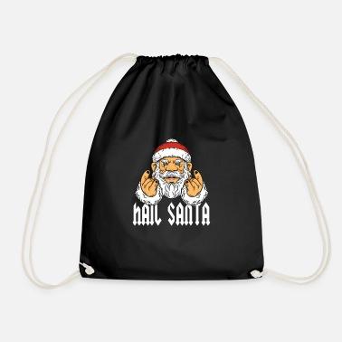 a22ba714d0 Fourche Métal Cadeau fourche Santa Rock Metal Hail Devil Pommes - Sac à dos  cordon