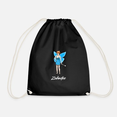 Tooth Tooth fairy dentist shirt gift - Drawstring Bag
