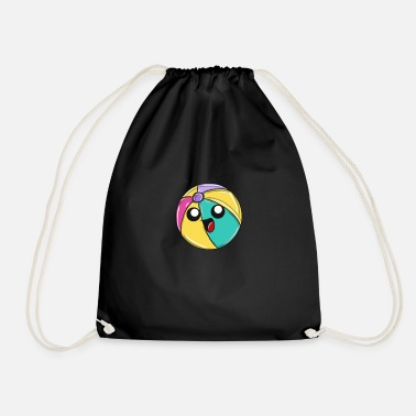 Beach Volleyball beach ball - Drawstring Bag