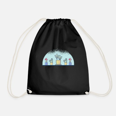 Plant Grounds plants - Drawstring Bag