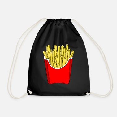 French Fries French fries fries - Drawstring Bag