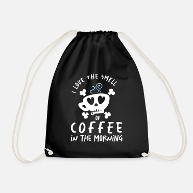 Starbucks I Love the Smell of Coffee in the Morning - Coffee - Drawstring Bag