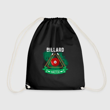 Cue Billiards game or snooker with the cue - Drawstring Bag