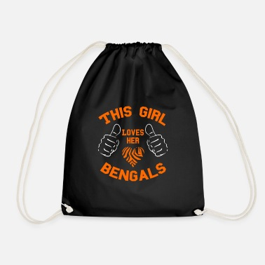This Girl Loves Bengals - Turnbeutel