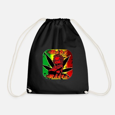 baby rasta - Drawstring Bag