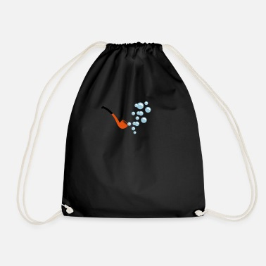 Blasen Blasen / bubbles (2c) - Drawstring Bag