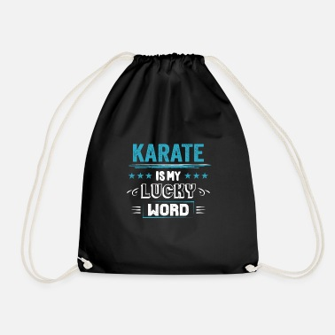 Association Karate Lucky Word Sayings Funny Funny Gifts - Sac à dos cordon